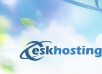 "Hosted by ""Eskhosting"""