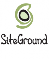 "Hosted by ""Siteground"""